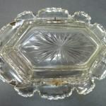 Glass/Silver Basket