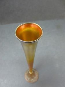 Bronze/Glass Vase