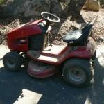 shingle springs estate sale, riding lawnmower
