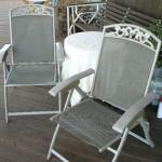 shingle springs estate sale, patio arm chair