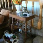 shingle springs estate sale, Eastlake end table