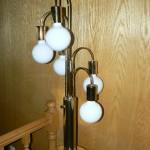 shingle springs estate sale, vintage pole lamp