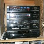 shingle springs estate sale, stereo system