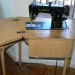shingle springs estate sale, vintage sewing machine