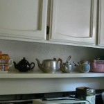 cameron park estate sale, vintage teapot collection