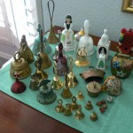 cameron park estate sale, collection of bells