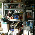 cameron park estate sale, coolers, thermos, remote control car, shelving
