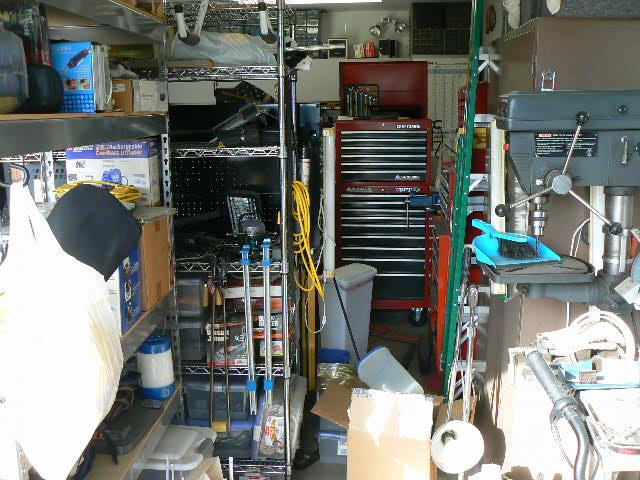 Cameron Park Estate Sale Drill Press, Storage Racks, Workbench, Lighting  Fixtures