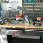 cameron park estate sale Craftsman workbench