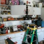 cameron park estate sale ladder, tools