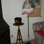 Fernstand, Weller Jardinere, Floor lamp
