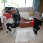 Allan Herschell carousel horse, blanket pony, unrestored