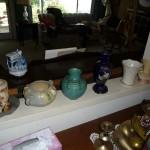 Roseville, Rookwood, Hull pottery, Lenox china vase