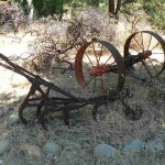 Antique harrow