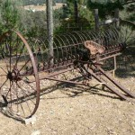 Antique hay rake, 2 available