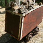 Antique mining cart