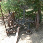 Antique sickle mower