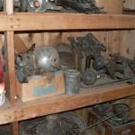 Vintage automotive parts