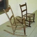 Pair of Antique porch rockers