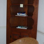Pair of corner cabinets