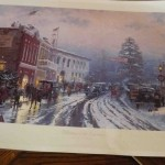 Unframed Thomas Kincaid print