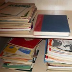 Vintage sheet music and magazines