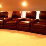 Media room lounge chairs