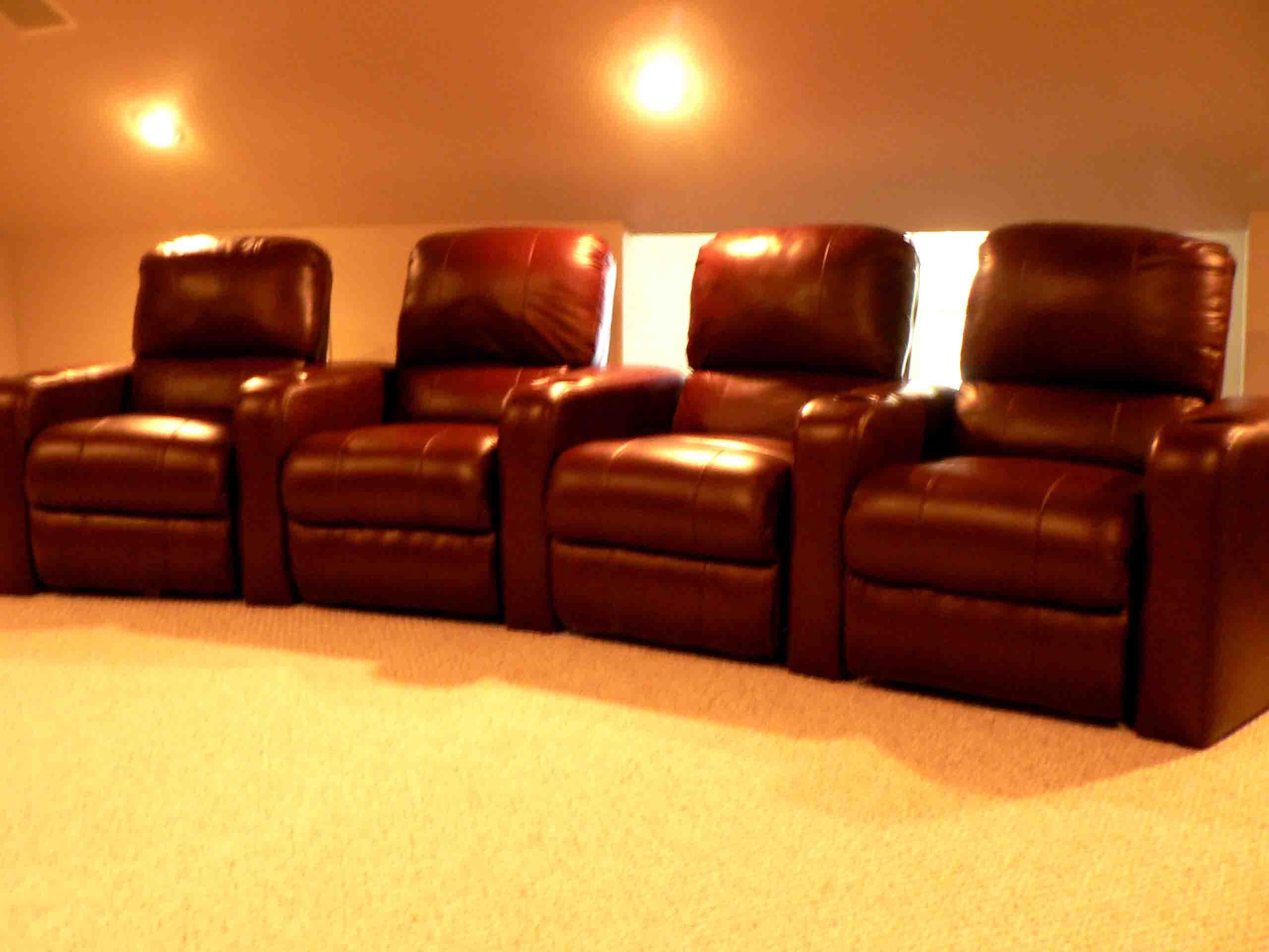 Decoration News Media Room Chairs