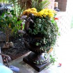 Patinated Bronze Urn