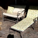 Patio Loveseat and Lounge Chair