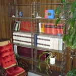Bookcase and rocker