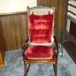 Cane Rocker with pads