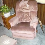 Dusty rose recliner and Reclinermate