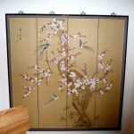 Huge Oriental screen