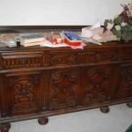 Vintage dining room sideboard