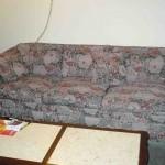 floral tapestry sofa