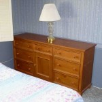 dresser and lamp