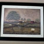 folk art print
