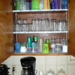 kitchen cupboards glasses